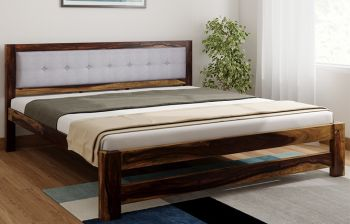 Furny Brendan Teak Wood Bed