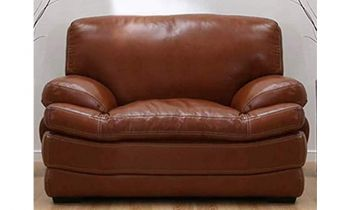 Furny Bretanny One Seater Sofa - (Brown)
