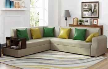 Furny Brossa Alyssa Six Seater LHS L Shape Sofa Set