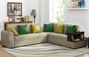 Furny Brossa Alyssa Six Seater RHS L Shape Sofa Set