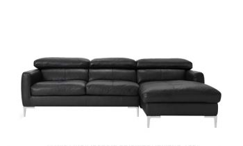 Furny Alizara Four Seater RHS Leatherette Sofa