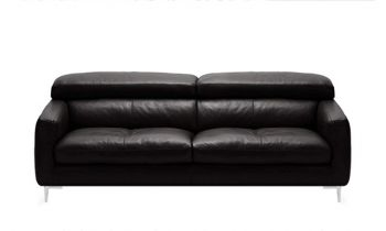 Furny Alizara Three Seater Leatherette Sofa