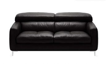 Furny Alizara Two Seater Leatherette Sofa