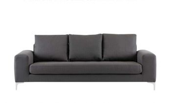 Furny Herman Three Seater Sofa - (Dark Grey)