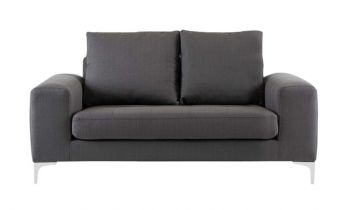 Furny Herman Two Seater Sofa - (Dark Grey)