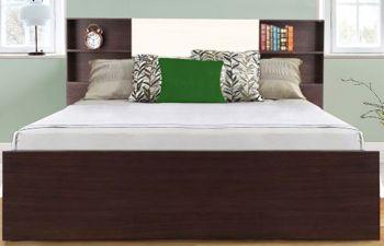 Furny Emon Engineered Wood Bed With Box Storage