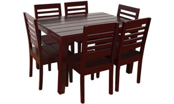 Furny Asian 6 Seater Dining Table Set