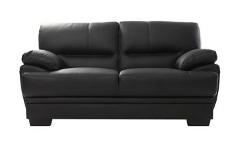 Furny Hector Two Seater Sofa (Black)