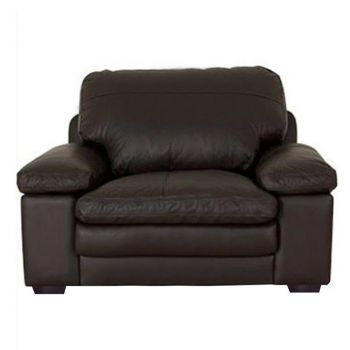 Furny Nathan Single Seater Sofa (Brown)