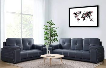 Furny Kingson 3+2 Leatherette Sofa Set