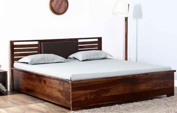 Furny Margus Teak Wood Bed