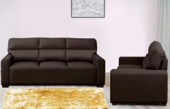 Furny 5 Seater Niceson 3+2 Leatherette Sofa Set