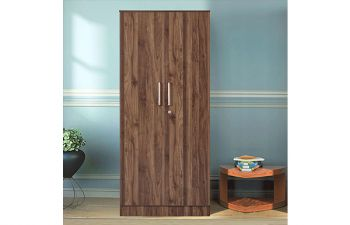Furny Tanvar Engineered Wood 2 Door Wardrobe with Drawer