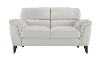 Furny Victoria Loveseat  (White)
